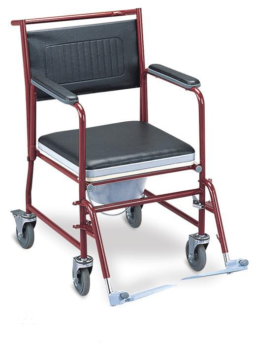 Steel Commode Wheelchair Footrest Detachable SC-CW02(S)