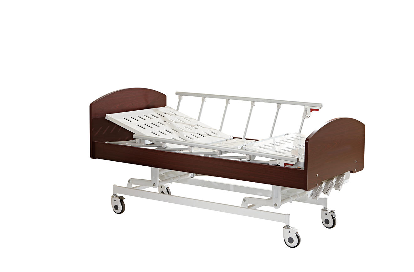 Home care Bed Three Cranks Manual Care Bed Hi-lo Adjustment SC-HB02
