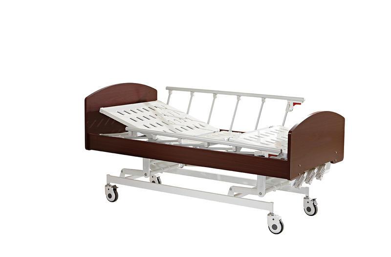 Home care Bed Three Cranks Manual Care Bed Hi-lo Adjustment SC-HB02