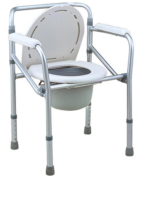 Aluminum Commode Chair Light Weight Frame SC-CC09(A)