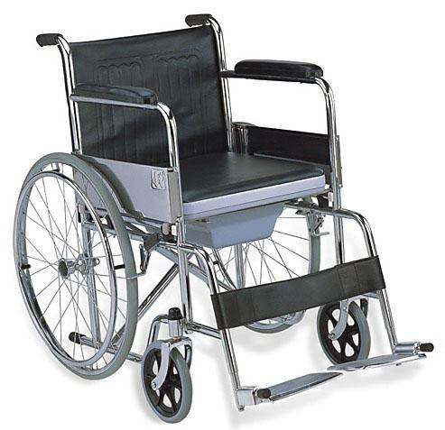 Commode Wheelchair 24