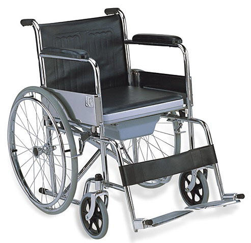 Commode Wheelchair 24