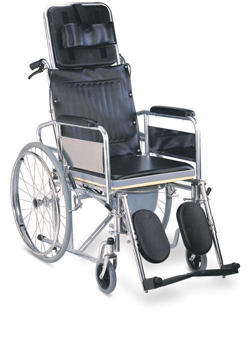 Commode Wheelchair Reclining High Back Handbrake SC-CW13(S)