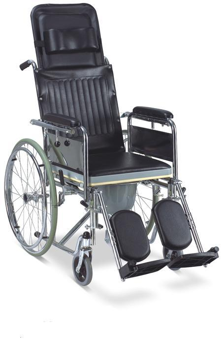 Commode Wheelchair Reclining High Back SC-CW14(S)
