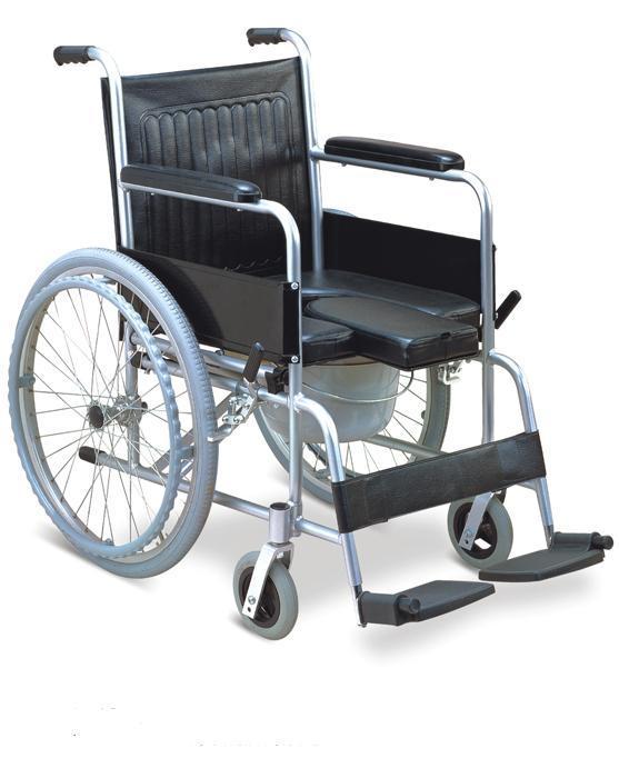 Commode Wheelchair Aluminum Big Wheels SC-CW10(A)