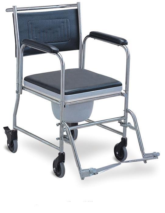 Commode Wheelchair Stainless Steel SC-CW04(SS)