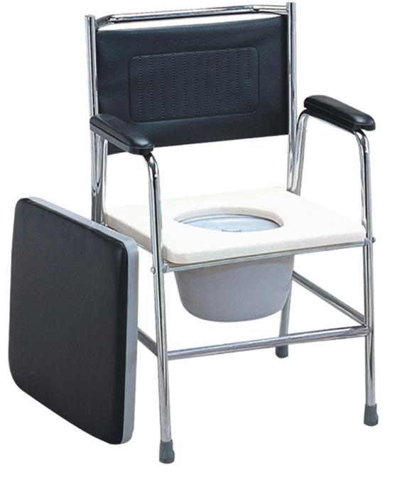 Commode Chair Steel Frame Soft Pad SC-CC08(S)