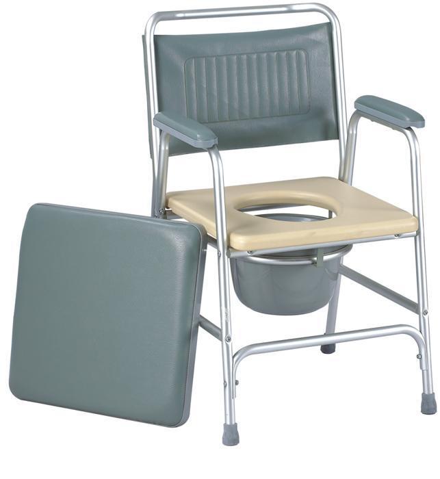 Commode Chair Aluminum Frame Soft Back& Pad SC-CC11(A)