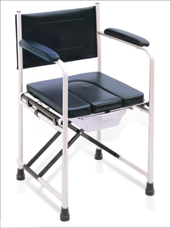 Commode Chair Aluminum Frame Foldable  U Shape Seat SC-CC13(S)