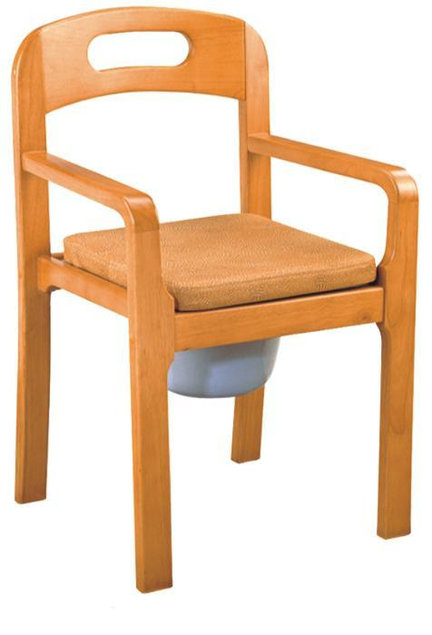 Commode Chair Wooden Material SC-CC14(W)