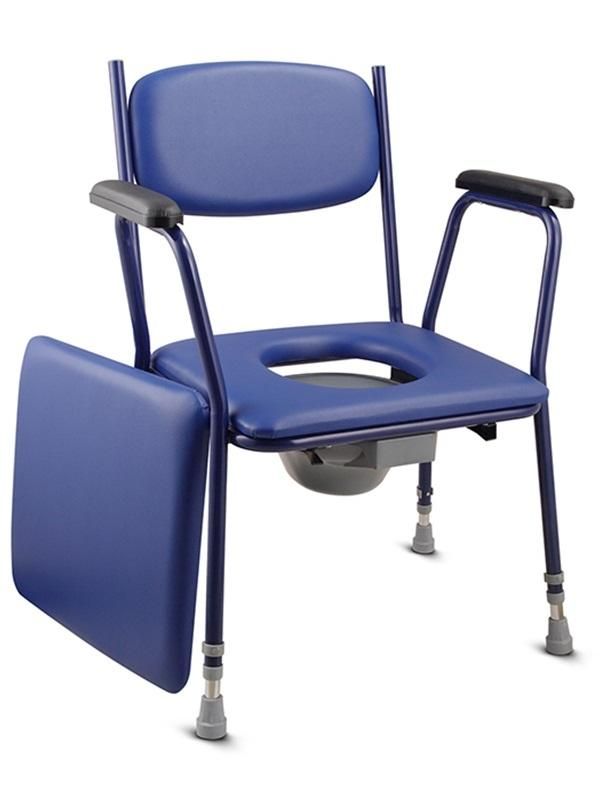 Commode Chair Steel Frame Soft Pad SC-CC15(S)