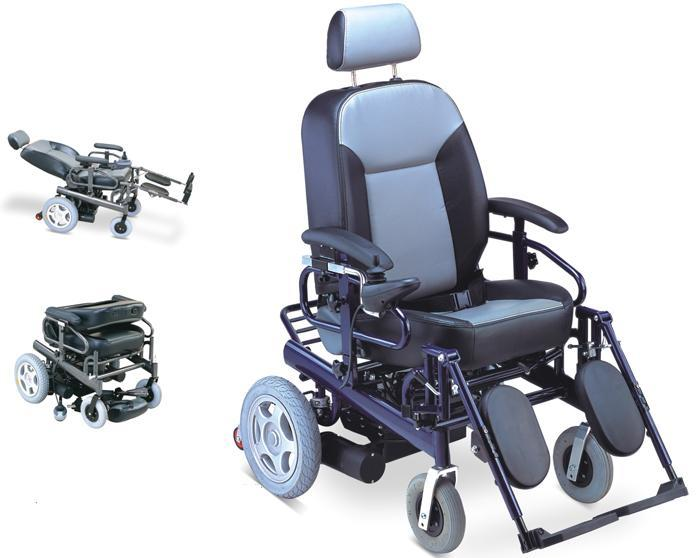 Electric Wheelchair Aluminum Reclining  SC-EW03