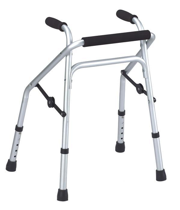 Aluminum folding walker for children use