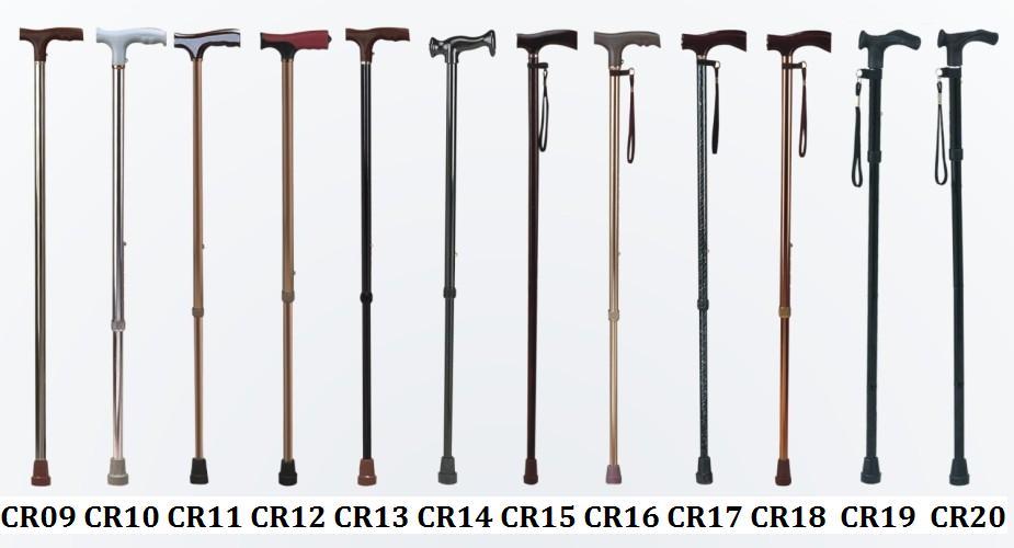 SCIENCE MEDICAL Aluminum stick adjustable single color Walking Aids image5