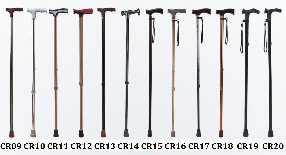 Aluminum stick adjustable single color