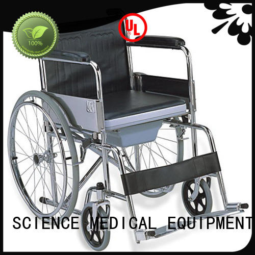 SCIENCE MEDICAL sccw12s wheelchair with potty get quote for disabled