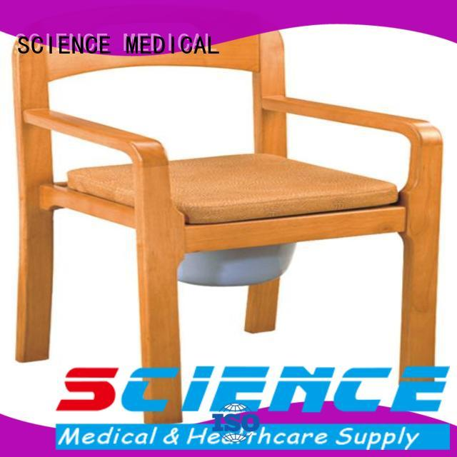 back commode and shower chair customization for disabled SCIENCE MEDICAL
