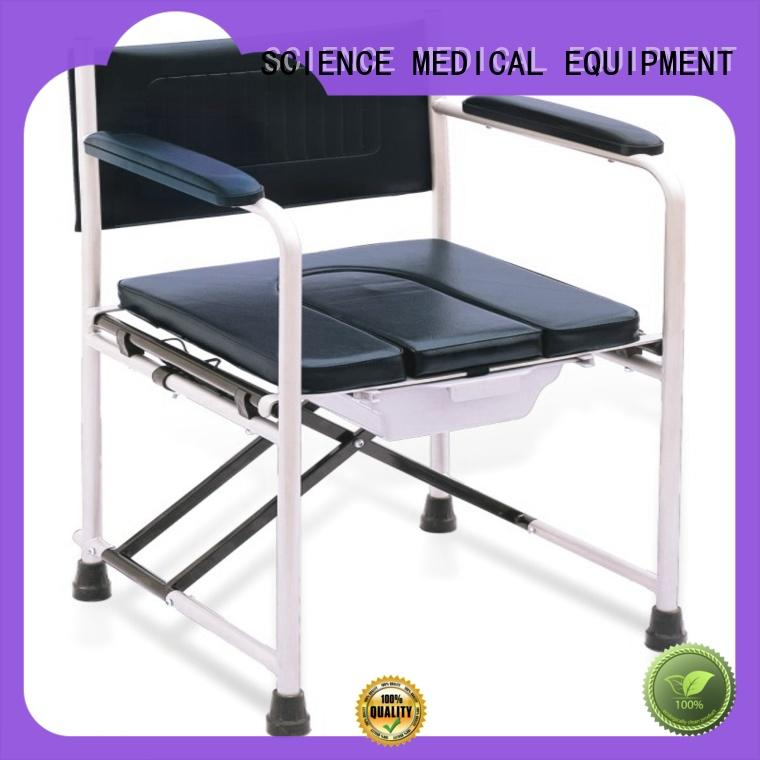 SCIENCE MEDICAL funky commode chair price bulk production for patient