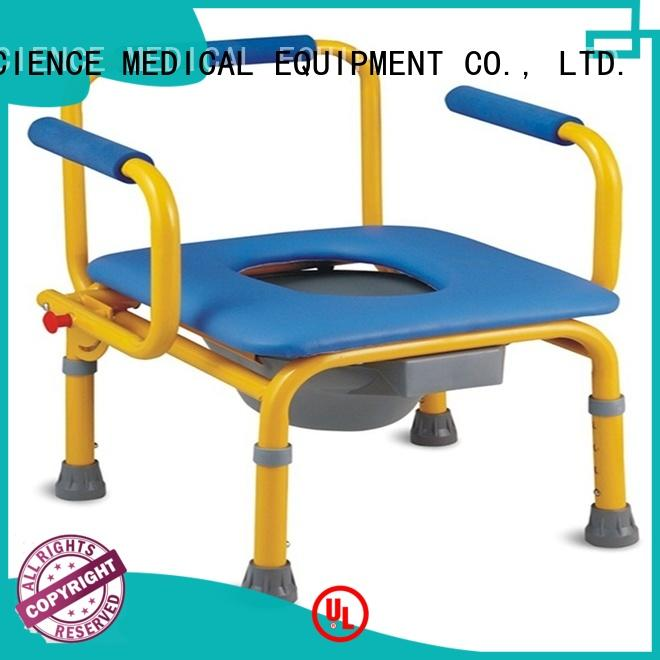 SCIENCE MEDICAL seat portable toilet chair for wholesale for patient