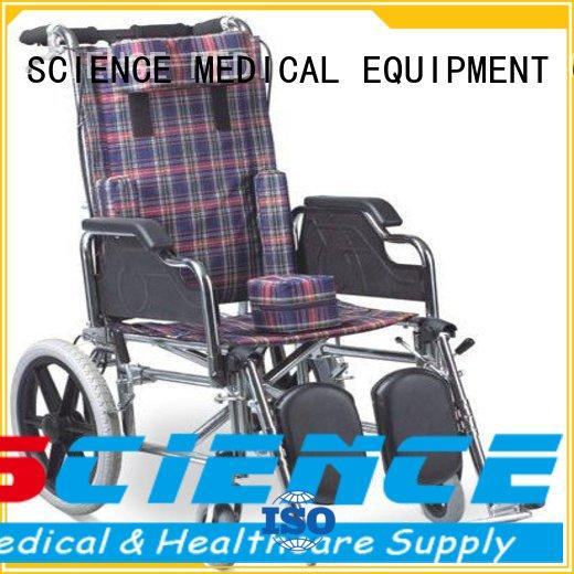 Quality SCIENCE MEDICAL Brand hot sale kid wheelchair