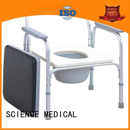 heavy commode chair price OEM for disabled SCIENCE MEDICAL