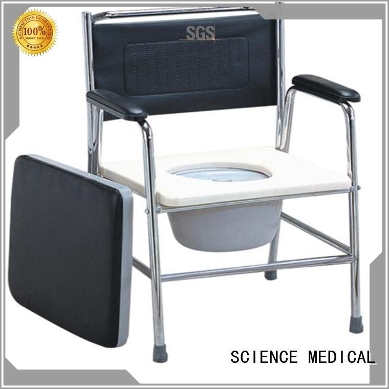 Breathable toilet chair for elderly sccc02s for wholesale for disabled