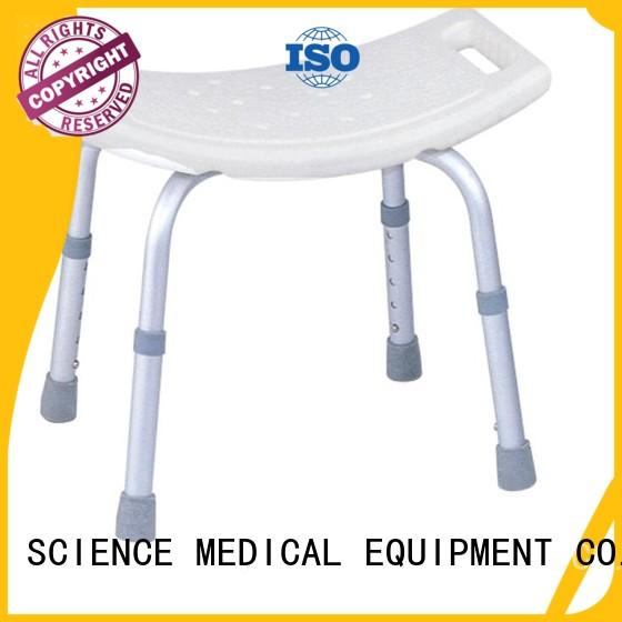 shower chair with swivel seat scaw11 leg shower chair SCIENCE MEDICAL Brand