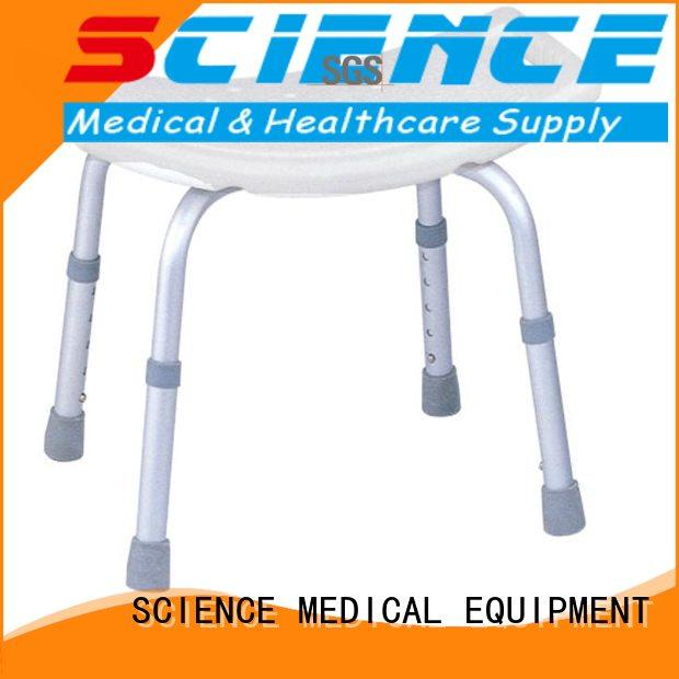 SCIENCE MEDICAL Breathable best shower chair free sample for people hard to stand