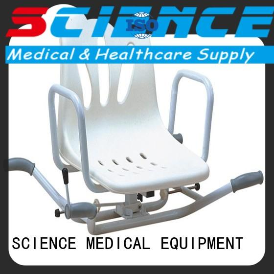 SCIENCE MEDICAL portable portable shower chair free sample for people hard to stand