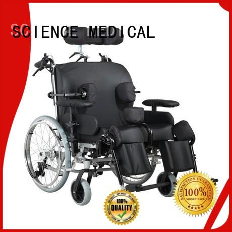Breathable manually operated wheelchair scsw04 get quote for patient