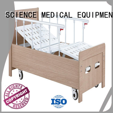 SCIENCE MEDICAL Brand electric scew13 scsw17 wheels hospital beds for home use