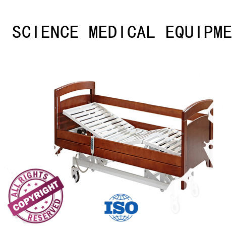 semi electric hospital bed scmb01 leisure SCIENCE MEDICAL Brand company