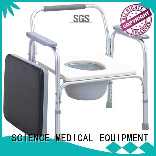 SCIENCE MEDICAL high-quality shower commode chair buy now for patient