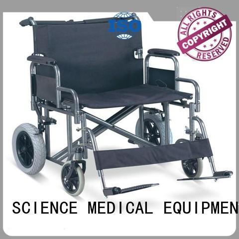 SCIENCE MEDICAL extra portable wheelchair supplier for elder