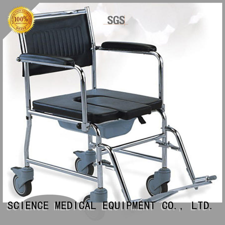 SCIENCE MEDICAL sccw09s wheelchair with toilet seat get quote for elder