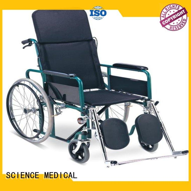 solid mesh folding manual wheelchair bulk production for disabled