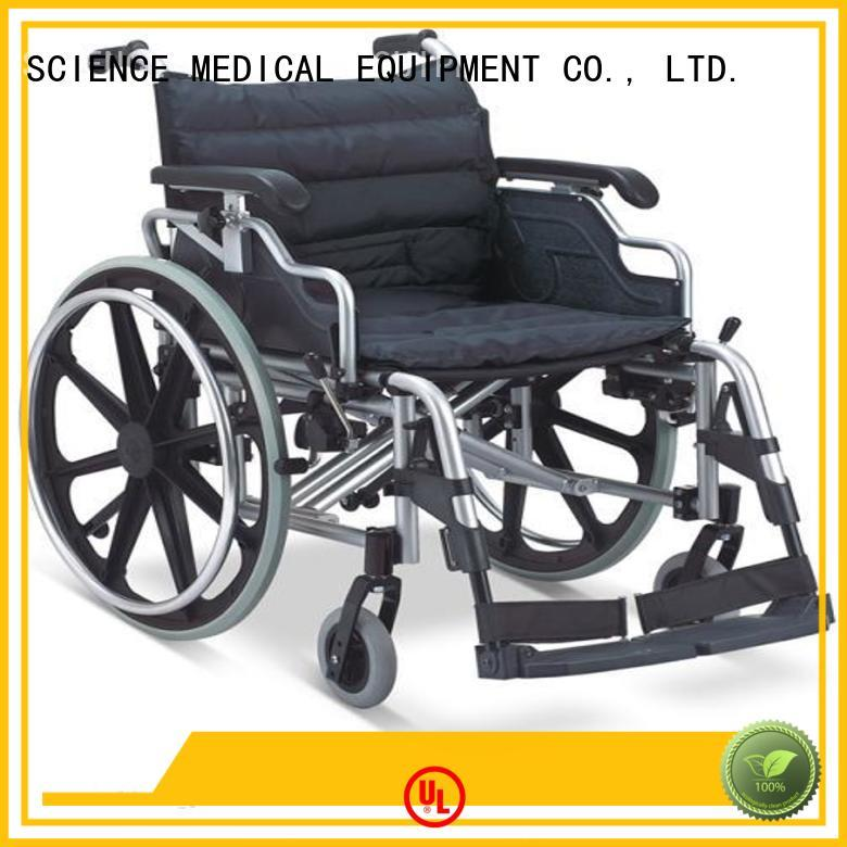 Latest manual wheelchair with elevating seat seat Supply for elder