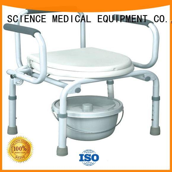 foldable elderly potty chair sccc01s2 for disabled SCIENCE MEDICAL