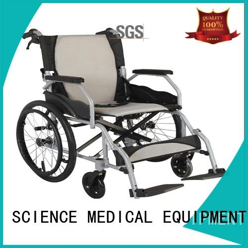 SCIENCE MEDICAL latest lightweight aluminium wheelchair get quote for patient