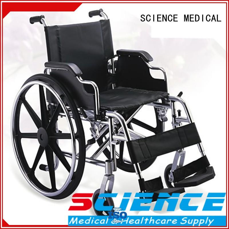 SCIENCE MEDICAL Best lightweight fold up wheelchair manufacturers for disabled