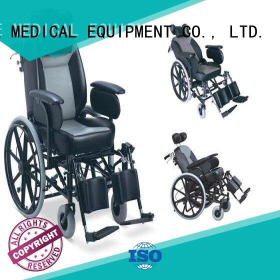Breathable foldable wheelchairs for sale OEM for patient