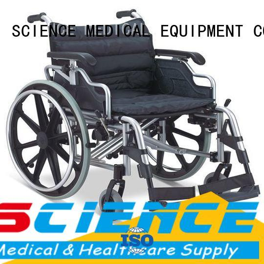 Breathable lightweight collapsible wheelchair buy now for disabled
