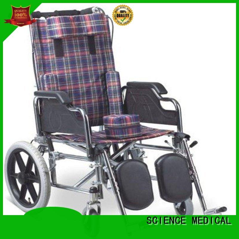 SCIENCE MEDICAL portable wheelchair for child with cerebral palsy supplier for patient