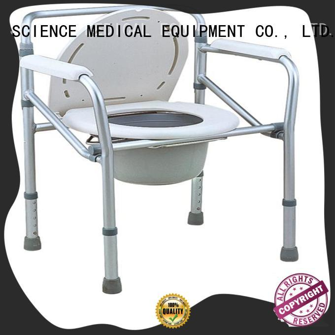 SCIENCE MEDICAL funky toilet chair customization for elder