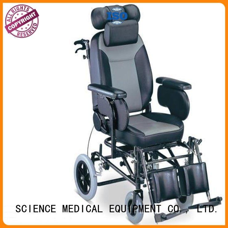 SCIENCE MEDICAL solid mesh wheelchair manual power pad for elder