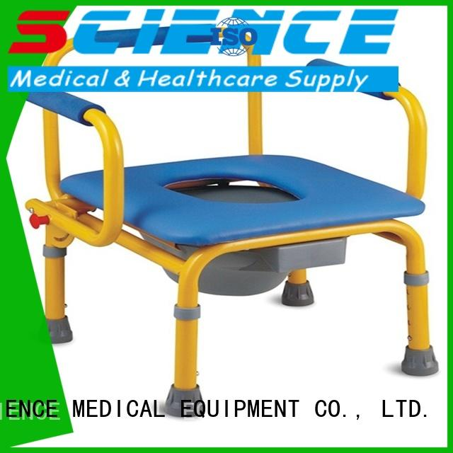 comfortable bedside potty chair sccc10a for disabled SCIENCE MEDICAL