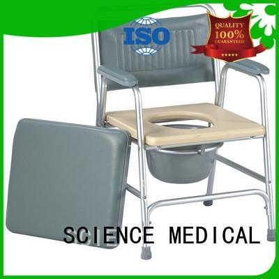 SCIENCE MEDICAL at discount shower commode chair ODM for disabled