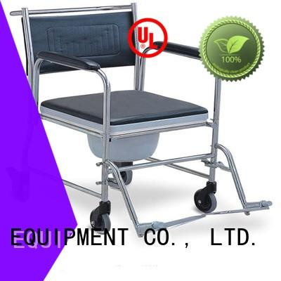 SCIENCE MEDICAL portable commode toilet chair with wheels buy now for disabled