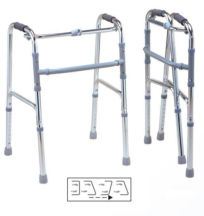 Aluminum Folding Walker Fixing or Swinging SC-WK03(A)