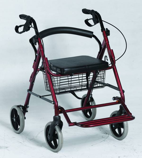Medical Equipment Aluminum Rollator for Disabled people